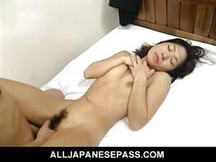 Hairy pussy japanese miku in lustful sex