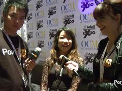 Pornhubtv meiko askara interview at 2014 avn awards