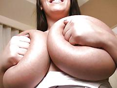 milf, posing, huge tits, brunette, natural tits, teasing, undressing, hard nipples, boobs grope, bbw babe, pinup, leanne crow, pinup files, pinup dollars