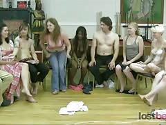Strip screw-your-neighbor with franco, zayda, jay, sky, lexi