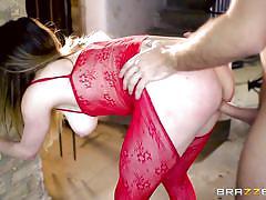 british, big tits, babe, big cock, deepthroat, brunette, anal sex, ball sucking, red lingerie, porn stars like it big, brazzers network, samantha bentley, keiran lee