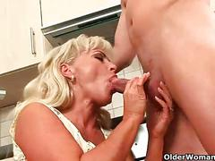 cumshot, milf, blowjob, mature, mom, mommy, mother, kirsten, cougar, darina