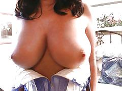 milf, solo, busty, brunette, cleavage, natural tits, teasing, undressing, boobs grope, pinup, sarah nicola randall, pinup files, pinup dollars