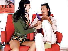 teen, lesbians, round ass, russian, dildo, babes, brunette, natural tits, undressing, sunglasses, tit flash, mia xxx, adria, wow girls, wow dollars