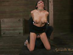 milf, bondage, bdsm, big boobs, brunette, mouth fuck, executor, suckers, tongue torture, beretta james, matt williams, sexually broken, kinkster cash