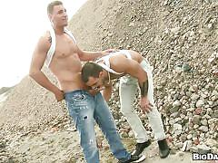 Ass fucked in the middle of nowhere