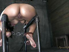 Metal and flesh brake her