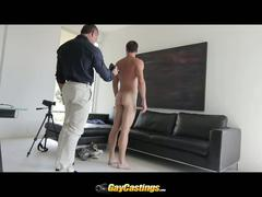 Mike drilled in ass for one hot casting