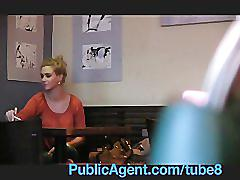 Publicagent she's fucking a celebrity no
