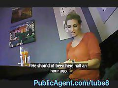 Publicagent she's fucking a celebrity no