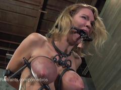 anal, bdsm, blonde, fetish, pornstar, hd, ass hook, bilbos, bit gag, breast bondage, chain, corporal punishment, device bondage, foot torture, hitting, humiliation, metal bondage, nipple clamps, nipple leash, spanking