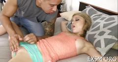 Drilling deep inside filthy pussy