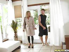 milf, blonde, talking, seduced, pick up, car, smiling, allura skye, milf hunter, nasty dollars