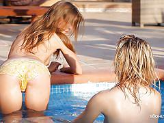 teen, blonde, lesbians, round ass, outdoor, russian, kissing, brunette, 18 yo, natural tits, swimming area, wet, guerlain, madonna x, 18 only girls, diesel action