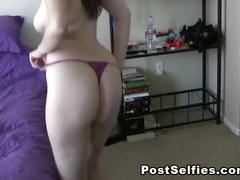 Homemade  naked girlfriend sexy strip dancing
