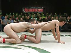anal, wrestling, blowjob, naked, tattooed, gays, from behind, fighting, muscled gays, spectators, combat, spencer reed, dj x, dean tucker, patrick rouge, naked kombat, kinky dollars