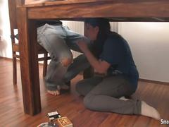 Under the table bj