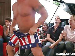 tattoo, stripper, blowjob, gays, muscular, gay party, gay orgy, hunk, sausage party, big daddy
