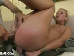 Dorina gold tied and fucked hard