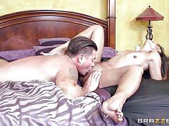 Smokey milf gets wild in bed