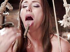 Slutty rilynn rae gets bonded