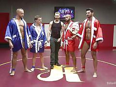 wrestling, public, show, gays, muscles, fighting, gay hunks, naked kombat, kink men, leo forte, jessie colter, billy santoro, doug acre