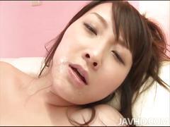 Shiori uta's gang-bang and facial