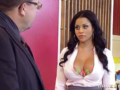 Brazzers network naughty secretary mary jean g...