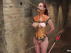 Mz berlin is punished for her being a bad milf