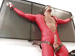 handjob, bondage, latex, blindfolded, handcuffed, gay bdsm, tied up, big dick, chained, executor, ball gag, jay torque, men on edge, kinky dollars