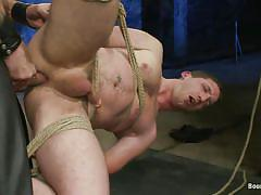 anal, bondage, bdsm, hanging, foursome, blowjob, gays, tied up, leather pants, ropes, vault, gay 69, brenn wyson, van darkholme, tony hunter, dj x, bound gods, kinky dollars