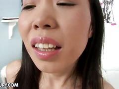 Yiki's anal dildo jam