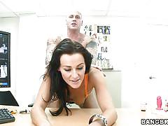 milf, tattoo, handjob, casting, dildo, mastrubation, from behind, dick sucking, point of view, backroom milf, bangbros network, nikki xxxxxx