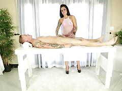 Milkingtable tattooed masseuse karmen karma lo...