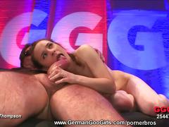 amateur, babe, brunette, cumshot, hardcore, european, pussy, beauty, brown hair, chick, cum in mouth, doggy style, facial, gorgeous, lesbian gangbang, messy facial, newbie, reverse cowgirl, shaved pussy, spoon