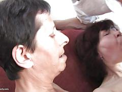 Mature swingers having fun