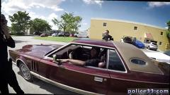 Gay porn male leather motor cop solo outside xxx suspect on the run gets deep dick