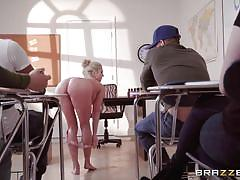Christine likes to fuck her students