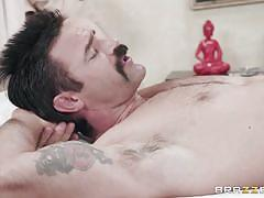 milf, handjob, massage, latina, blowjob, big boobs, oiled, pussy licking, riding cock, 69 position, dirty masseur, brazzers network, tia cyrus, charles dera