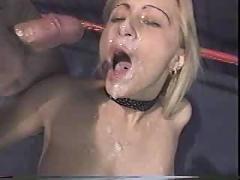 Jessica darlin bukkake facial cum shots