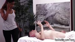 Skinny dude chad diamond asks ts natassia dreams to suck his hard dick