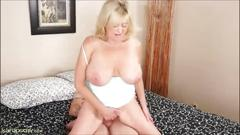 Hot mature whore takes doggystyle