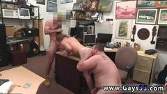 Straight gay twinks eat cum for cash xxx guy ends up with anal invasion fuckfest threesome