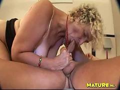 Grandma sucked my cock