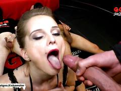 Mia bitch the young cum target - german goo girls