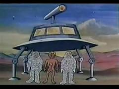 Dirty cartoon - space trek