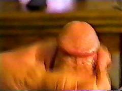 Creamy cock milking