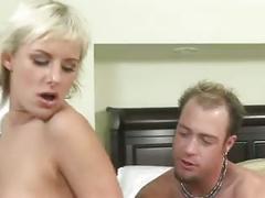 Eve nicholson gets cum on ass