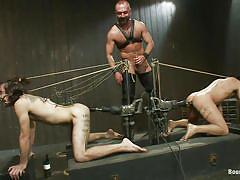 tattoo, anal, bondage, bdsm, gangbang, blowjob, fucking machine, bear, gays, tied up, gagged, jerking off, van darkholme, josh west, dominic pacifico, dylan deap, bound gods, kinky dollars