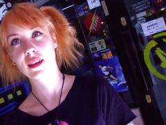 Puta locura amateur redhead teen picked up on the street